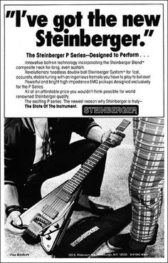 I've got the new Steinberger - GP