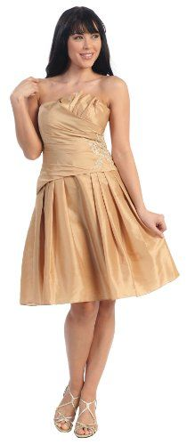 Junior Bridesmaid Elegant Short Dress #2618 $39.99