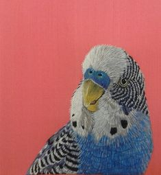 Kate Barlow 'Smuggler' Silk Shaded Embroidery