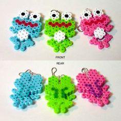 Frog charms perler beads