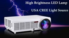 5500lumens smart Android4.4 wifi lcd tv led projector full hd1920x1080 3d support home theater projetor video proyector beamer  — 13477.72 руб. —