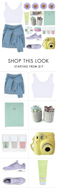 """""""untitled #67"""" by karla-jhoana ❤ liked on Polyvore featuring Nails Inc., NIKE, Hershey's and Miss Me"""