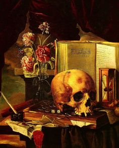Collected Maxims and Other Reflections (Oxford World& Cl Memento Mori, Momento Mori Tattoo, Vanitas Paintings, Crane, Dance Of Death, Still Life Flowers, Baroque Art, Dark Images, Art Addiction