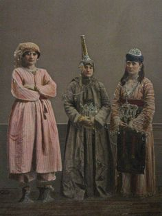 Ottoman empire clothing examples