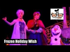 The Disney Nerds Podcast – Video #1: Frozen Holiday Wish (Front Row with Frozen) | The Disney Nerds Podcast