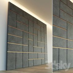 ideas for decorative wall paneling interiors Wall Panel Design, Tv Wall Design, Ceiling Design, Stone Wall Design, Office Wall Design, Wall Tiles Design, Wall Cladding Interior, Interior Walls, Exterior Cladding