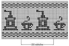 crochet filet chart - Поиск в Google