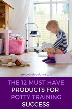 The 12 must have products for potty training successfully
