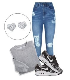 """""""Untitled #148"""" by amyahkelly ❤ liked on Polyvore featuring Lipsy, Blair and NIKE"""