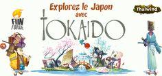 #Tokaido #boardgame #Japan