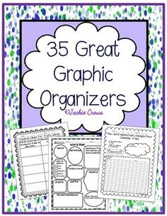 Now, here are 35 great organizers! If you bought my original Graphic Organizer…