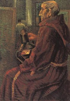 Dali, Salvador (1904-1989) - 1925 Seated Monk