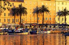 Ajaccio, Corsica, birthplace of Napoleon Bonaparte. Beautiful Islands, Beautiful Places, Ajaccio Corsica, Ocean Cruise, Budapest, France Travel, Places Around The World, Places To Go, Travel Photography