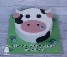 Cow Face Cake