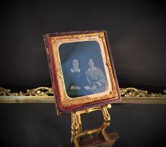 Antique Tin Type Photo Daguerreotype Photo by LuxuryCityAntiques