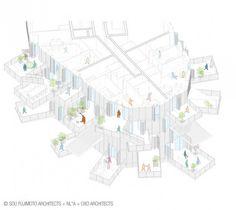L'Arbre Blanc di Sou Fujimoto a Montpellier | Progettare