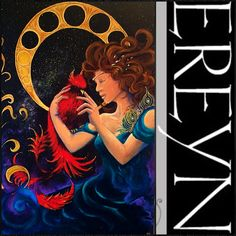 """The Phoenix"" by EREYN artist Erin Reynolds"