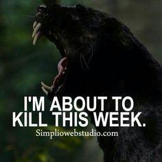 Let's kill it...👍