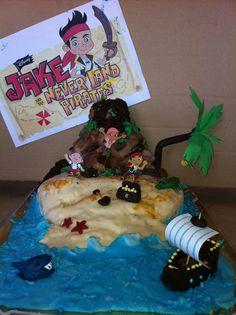 Jake and the Neverland Island - Birthday cake