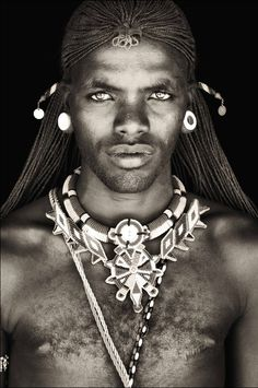 Samburu Moran (warrior) in Kenya (Photo: Mario Gerth)