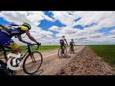 Cyclists Take On the Dirty Kanza 200 - Grinding on the Gravel | The New York Times - YouTube