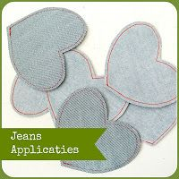 By MiekK Blogt: DIY: Jeans Applicaties maken