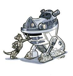Star Wars / Disney - Mashup.