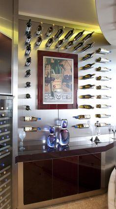 Wine rack. So original !