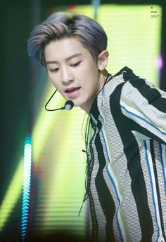 [170810] - Chanyeol at M!Countdown Music stage