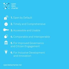 The Open Data Charter: A Roadmap for Using a Global Resource