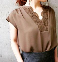 Blouse And Skirt, Blouse Dress, Blouse Styles, Blouse Designs, Plus Size Bohemian Dresses, Shirt Refashion, Elegant Outfit, Clothing Patterns, Blouses For Women