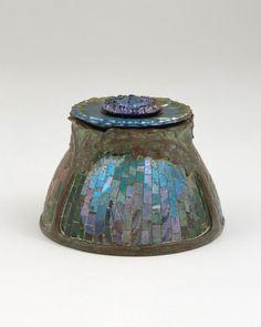 Tiffany Studios | Poppy Inkwell, ca. 1901 | Chrysler Museum of Art | Gift of Walter P. Chrsyler, Jr. | 71.2686