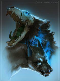 Monsters by ZakraArt.deviantart.com on @DeviantArt
