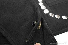 Antigüedades: Trajde hombre. Completo: calzón, chaleco y chaqueta. - Foto 5 - 57919892