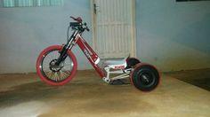 Drift Trike Com Full Suspensão