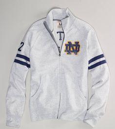 Notre dame women's track jacket