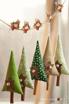 new year`s tree toys