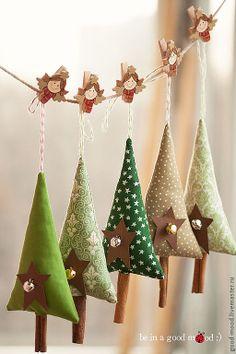 new year`s tree toys