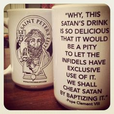 "The ""Cheat Satan & Drink Coffee"" Mug"