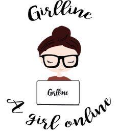 A girl online