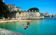 Siracusa in the summer heat. Photo © Millie Brown