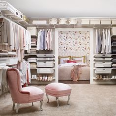 Sleep in the nook and use the bedroom as the closet - I like