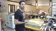 How to cut long boards with a cross-cut sled | The Wood Whisperer