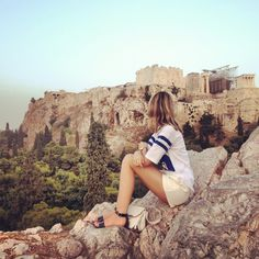 Aeropagus hill (next to Acropolis)
