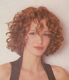 curly hair red and short