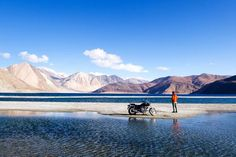 This time Magick Trips takes you to the fabled lands of Leh-Ladakh in a trip of a lifetime. Embark the journey with thrill from Leh Ladakh India tour. Ladakh India, Leh Ladakh, North India, India Tour, Royal Enfield, Cool Bikes, Cool Places To Visit, Things To Come, Landscape