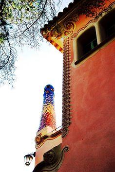 Parque Güell, Casa-Museo Gaudí, Barcelona