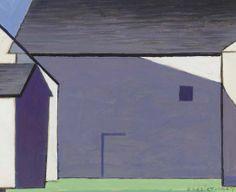 Charles Sheeler - Barn Abstraction (1947)