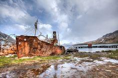 Grytviken, South Georgia Island - http://www.annedirkse.com/365/grytviken-south-georgia-island/