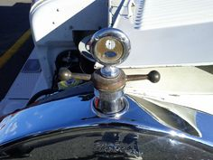Another interesting old Ford hood ornament...